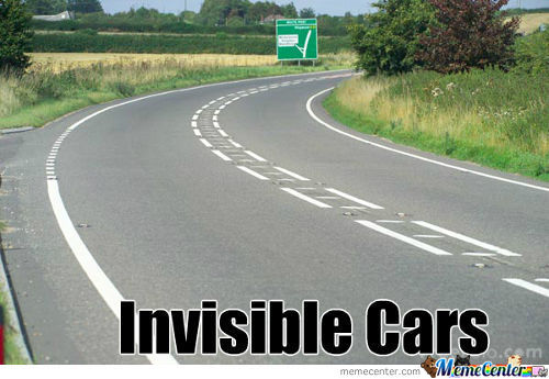 Invisible Cars