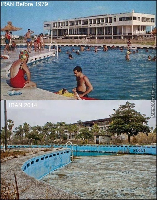 Iran Before And After Revolution