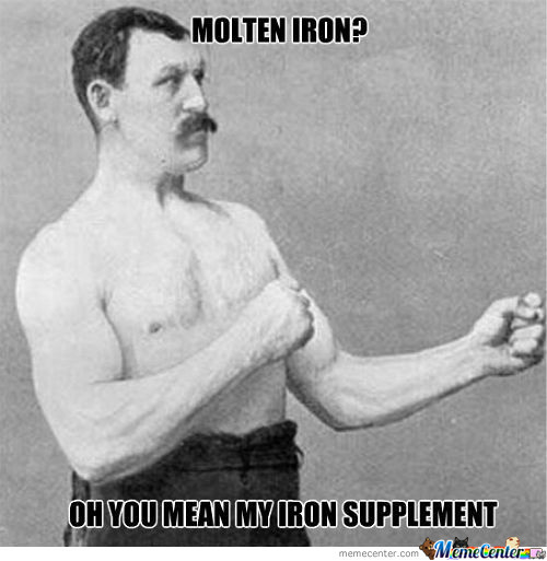 Iron Is Good For Your Blood