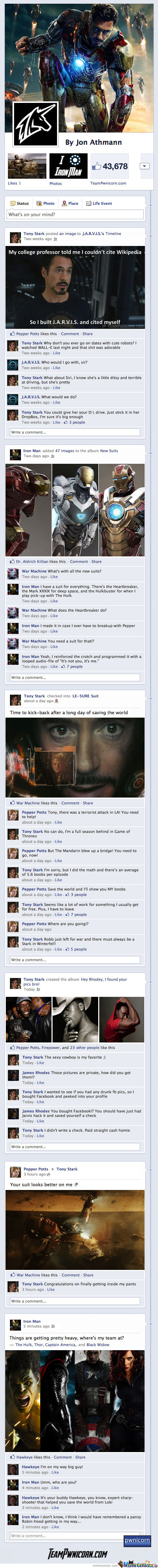 Iron Man 3 On Facebook