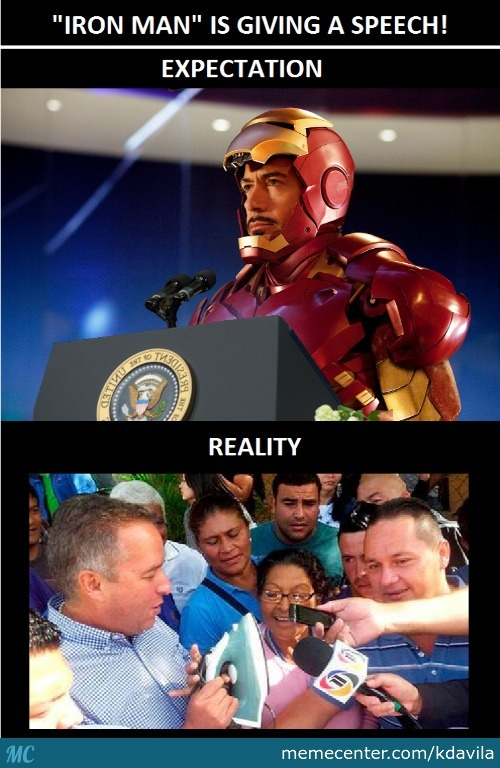 Iron Man Got Into Politics ...