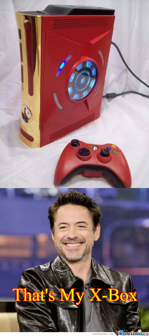 Iron Man's X-Box