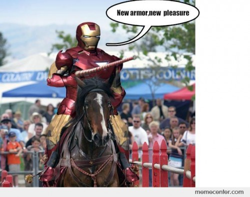 Iron Man Knight