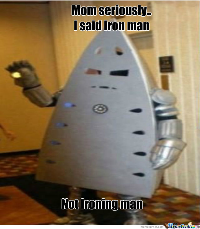 Ironing Man by recyclebin - Meme Center