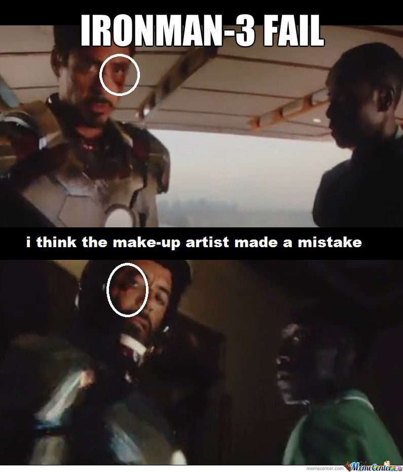 Ironman-3 Fail