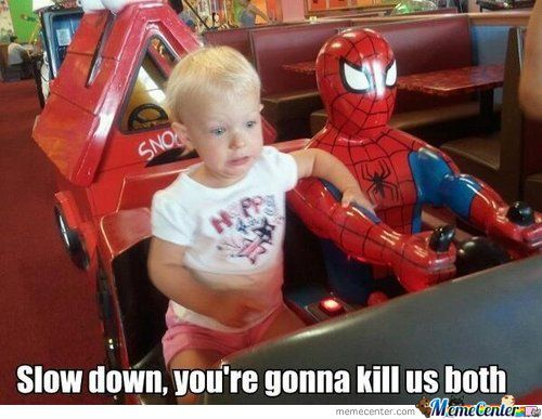 Irresponsible Spiderman