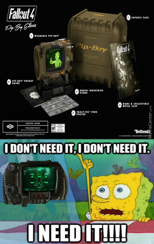Is Your Body Filled With Hot Blood? Can You Feel All That Blood? Is It Even Your Blood? How Can You Be Sure? Your Pip Boy Knows