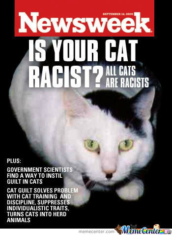Is Your Cat Racist?