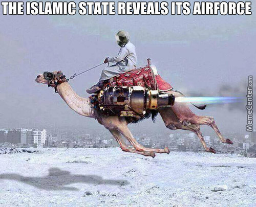 Isis's Airforces