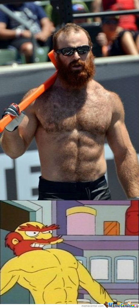 It's Groundskeeper Willie In Real Life