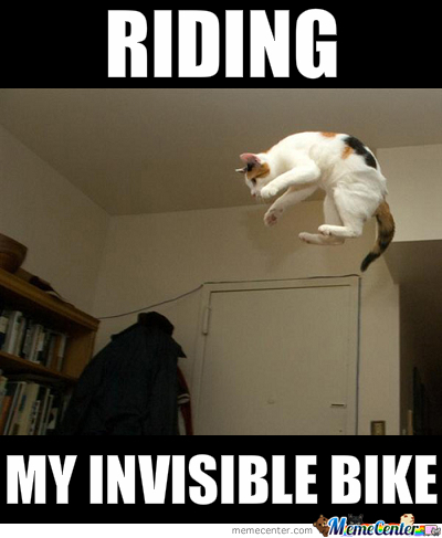 It's Invisible