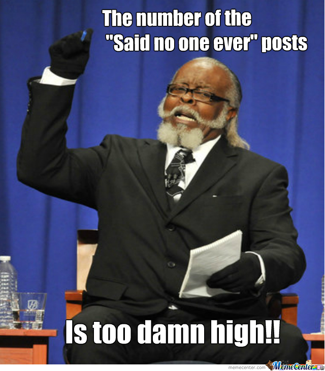 It's Just Too Damn High