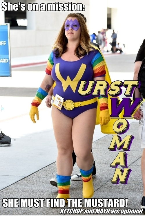 It's Like Wonder Woman! ... With Food!