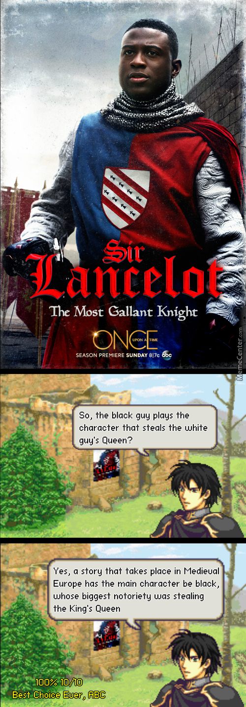 It's Medieval Europe1! Call Me Racist, But Black People Weren't Knights