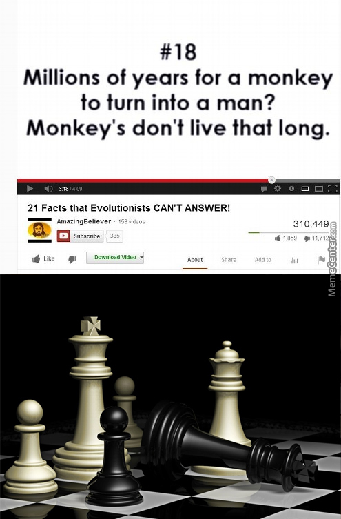 It's True Though, Monkeys Don't Live That Long