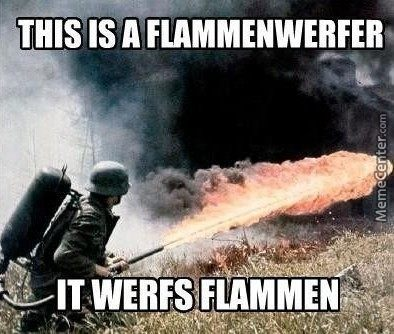 It Does Not However, Flams Werfen