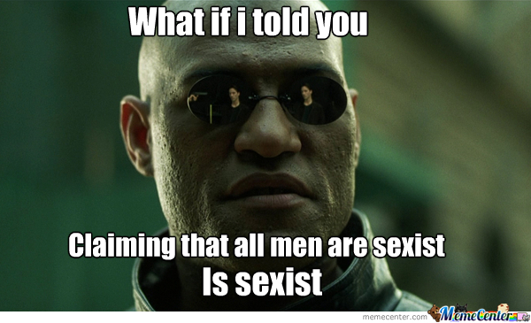 It Is Very Sexist