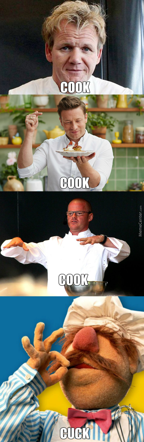 It Looks Like He Is Sucking A Petit Benis, He Truly Is The Swedish Chef