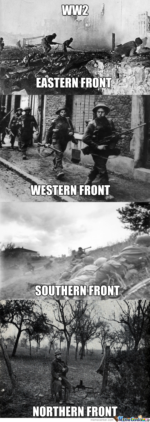 It Was Quite Calm Up In The Northern Front