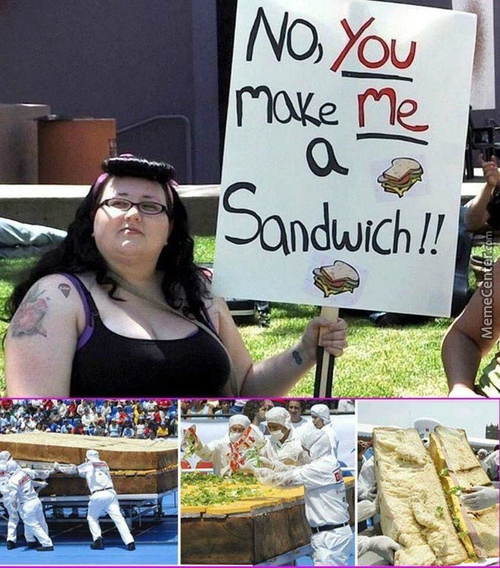 It Will Need The Resources Of The Imperium Of Man To Make Her A Sandwich