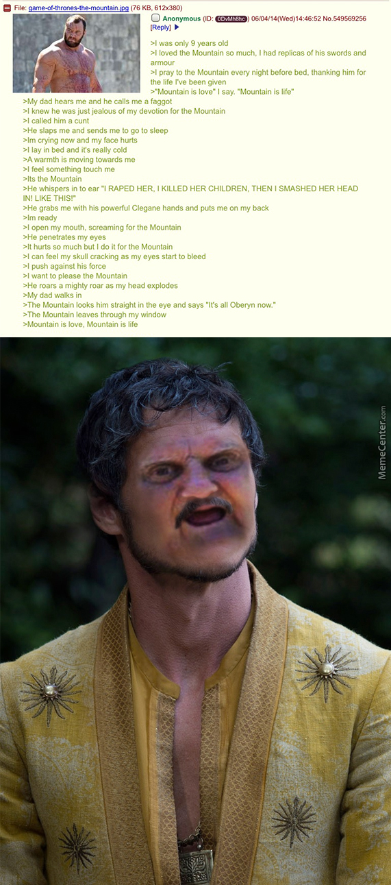 It`s All  Oberyn Now