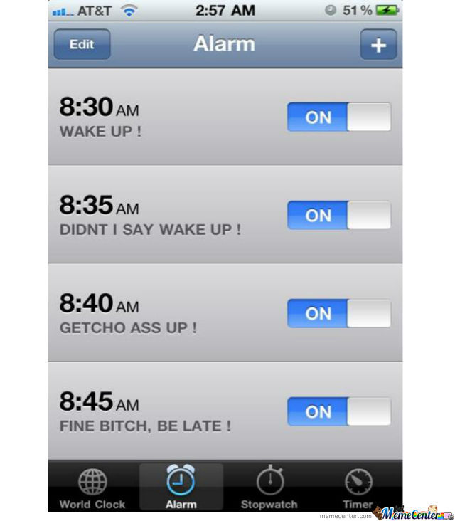 It's Kinda Similiar To My Alarm Clock :)