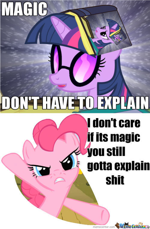 Its Magic Shouldn't Need To Explain But Still Have To