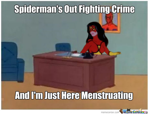 It's Spider-Woman, Period.