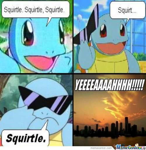 It's Squirtle