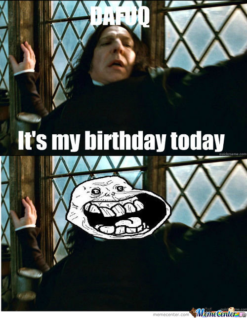 It's Snape's Birthday!