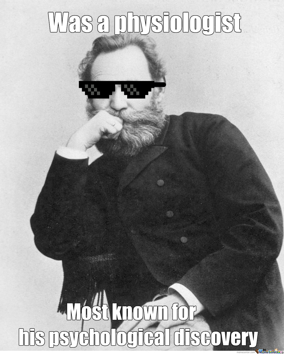 "Ivan Pavlov Be Like ""deal With It"""