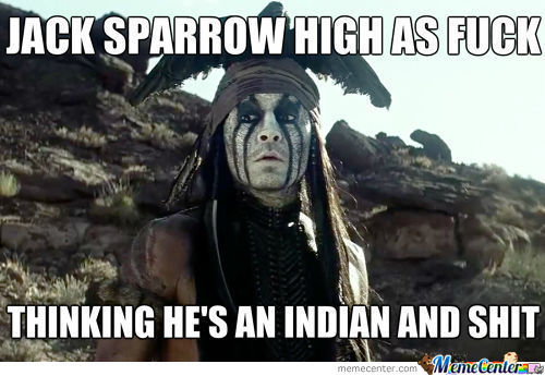 Jack Sparrow High As Fuck