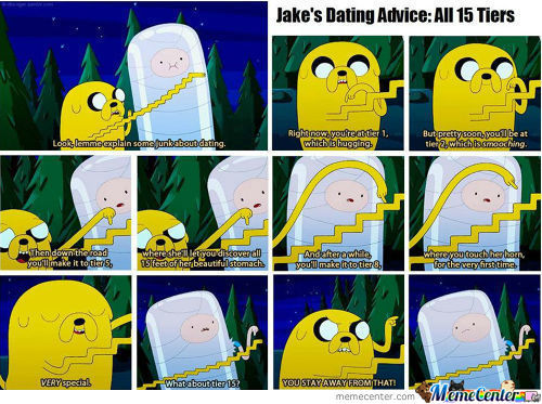 Jake's Dating Advice:all 15 Tiers