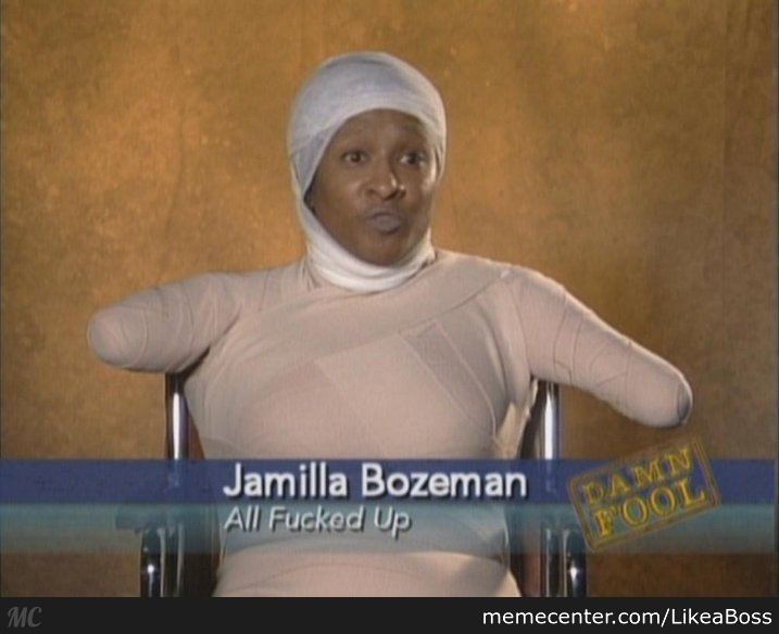 Jamilla Bozeman All F*cked Up