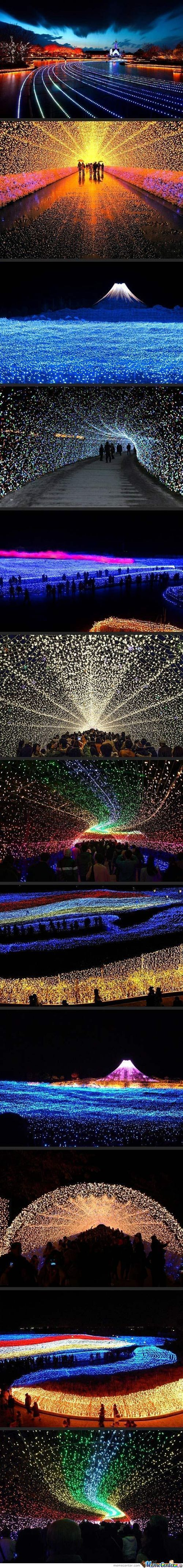 Japan'S Winter Lights Festival…amazing