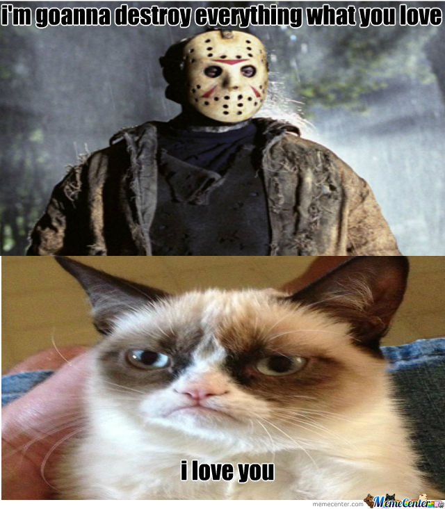 Jason Vs Grumpy Cat