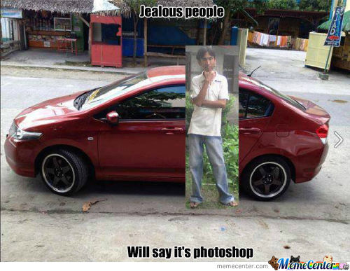 Jealous People Will Say It's Photoshop