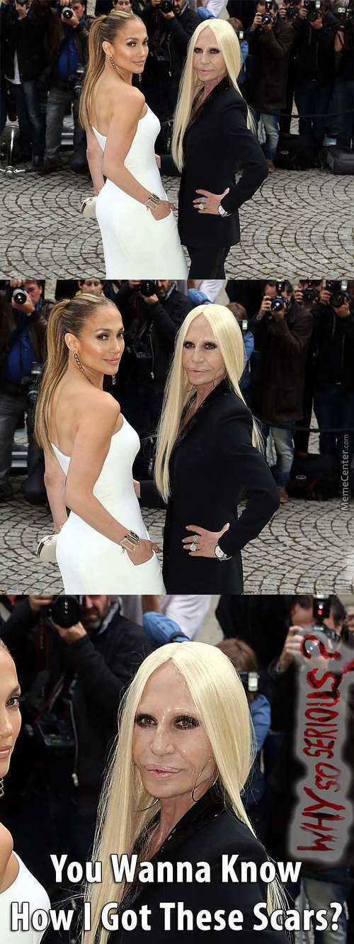 Jennifer Lopez And Donatello Versace Wtf