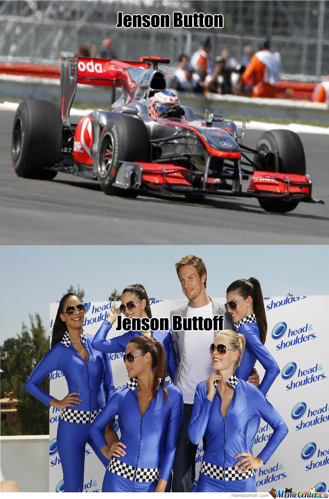 Jenson Button ( I Want His Life )