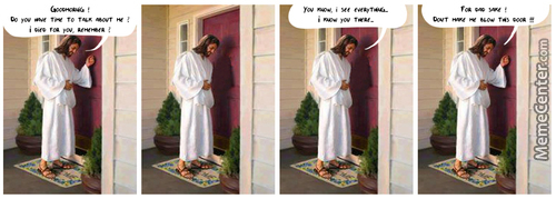 Jesus At My Door