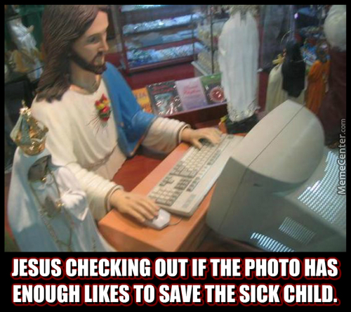 Jesus Be Churching On The Holynet.