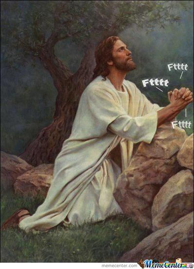 Jesus Being A Troll