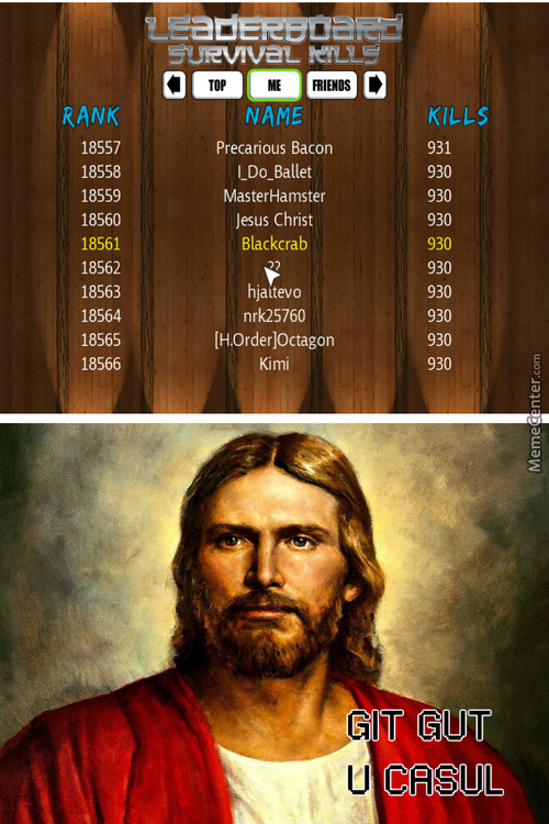 Jesus Did Better Than Me