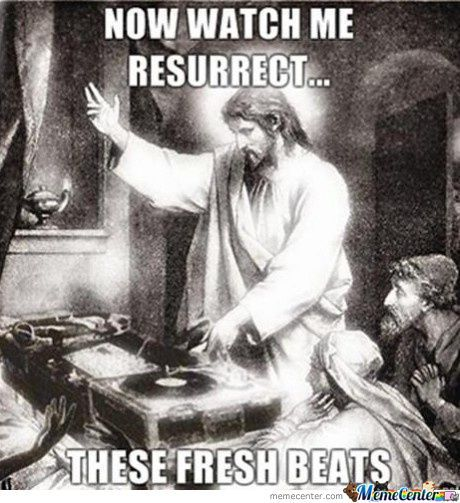 Jesus Doesn't Drop The Bass