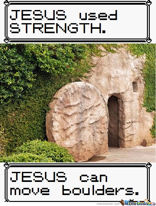 Jesus Learned Strength