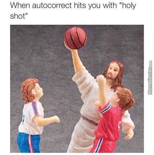 Jesus Take The Ball