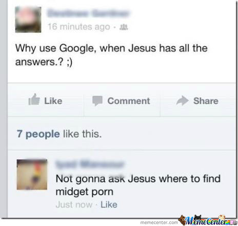 Jesus Vs Google