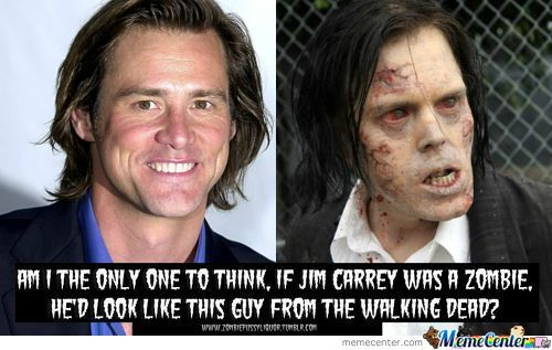 Jim Carrey In The Walking Dead?