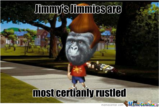 Jimmie Rustled Neutron