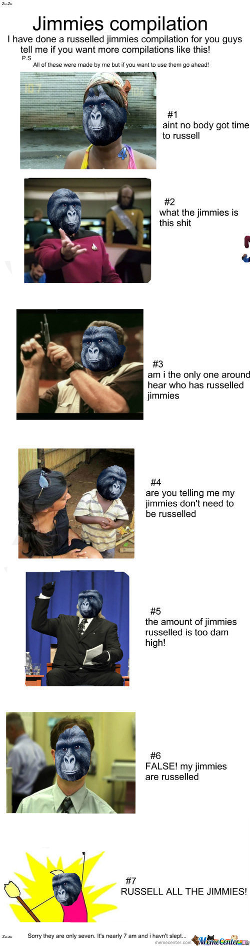 Jimmies Compilation #1